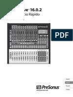 StudioLive16.0.2 Quickstart ES