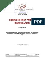 Codigo de Etica Para La Investigacion v001