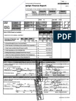 Dan Laughlin campaign finance report