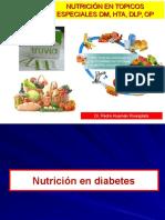 11 Nutrición Clínica - DM2, DLP, HTA, Osteoporosis