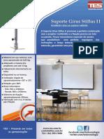 20140812 Suporte Projetor Girus Stillus II