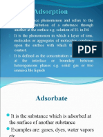 Adsorption in Physical Pharmacy