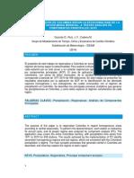 Regionalización de La Lluvia en Colombia