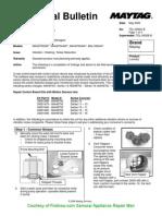 Maytag MAH Washers Vibration and Walking Problems TDL-0092C-B