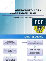 13. Hukum Antimonopoli