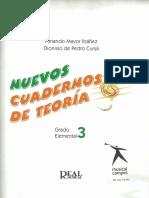 315943452 Nuevos Cuadernos Teoria Musical Ibanez Cursa 3 Grado Elemental
