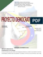 PROYECTO DEMOCRATICO 1500