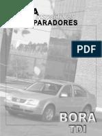 Manual VW Bora TDI (Ficha)