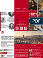 Brochure Florence Choral 2017-2019