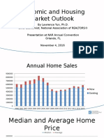 November 2016 Economic and Housing Market Outlook