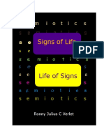 Signs of Life and Life of Signs.