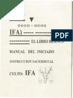 Manual Del Iniciado en Ifa
