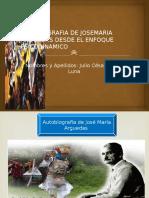 Autobiografia de Josemaria Arguedas Desde El Enfoque Psicodinamico