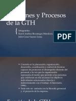 Funciones y Procesos de La GTH