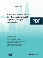 Burocracia federal da área de infraestrutura