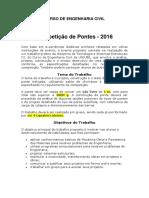Competicao de Pontes 2016