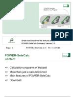 POWER-SeleCalc-2-0
