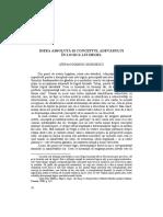 Dominic Georgescu - Ideea Absoluta Si Conceptul Adevarului in Logica Lui Hegel [PL Vol. XIV]