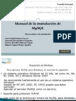 Manual de Instalacion de Mysql4
