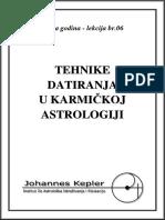 T-06-C Tehnike Datiranja u Karmickoj Astrologiji