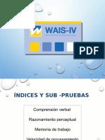 PPT WAIS IV