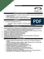 Linux System Administrator Resume Sample. Rajni Sh