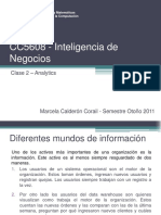 Inteligencia de Negocios Clase 2