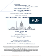 Luncheon for Erik Paulsen