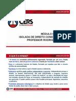 AULA 01 - Introdução ao Direito Constitucional - Professor Rodrigo Menezes