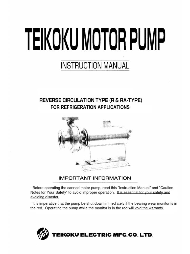 1509906675 teikoku pump refrigeration o&m manual pump valve teikoku pump wiring diagram at downloadfilm.co