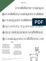 Rodlfo El Reno Letra y Partitura