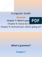 A Linguistic Toolkit Chapters 7-9