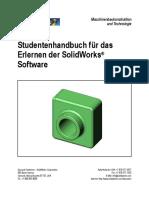 Studentenhandbuch Für Der SOLIDWORKS