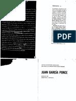 Autobiografía Juan García Ponce