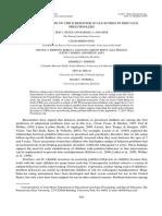 Contextualización de los puntajes de las Escalas evaluación de conducta en Pre Escolares Peruanos (ING)