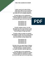 Cancionero Camilo Sesto