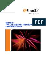 Shoretel VPN Concentrator 4550/5300 Configuration Guide