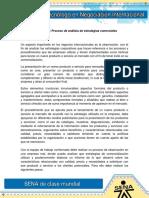 Evidencia 15 Proceso de Análisis de Estrategias Comerciales