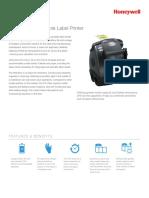 LP3 Mobile Label Printer Datasheet Ltr