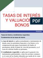 Tasas de Interes y Valoracion de Bonos