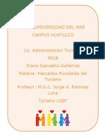 Turismo LGBT Internacional Que No Pernocta