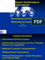 Lecture 2 International and Global Marketing Environment
