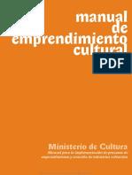 Manual de Emprendimiento Cultural