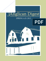 The Anglican Digest – Spring 2015