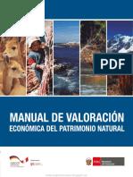 Manual de Valoración Económica Del Patrimonio Natural