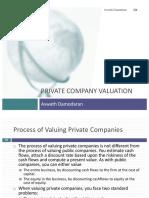 Private Company Valution