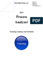 2015 Smith Analytical Training Schedule-Final