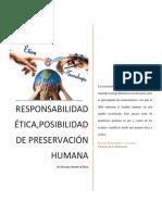 Responsabilidad Ética, Posibilidad de Preservación Humana_Rafael Hernadez