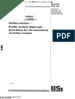 BS ISO 4288 - 1996 AMD1