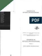 Handbook de Estudos Organizacionais Vol 3_Cap.1-4